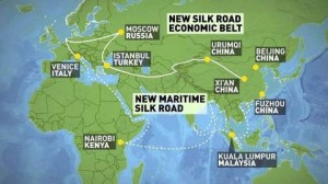 New silk road routes Inversiones 02.11.2016